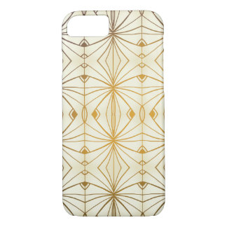 Classy Art Deco Inspired Design iPhone 7 Case