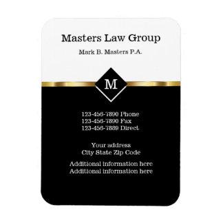 Classy Attorney Design Magnet