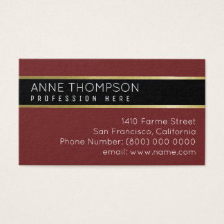 classy basic business_card for any profession business card