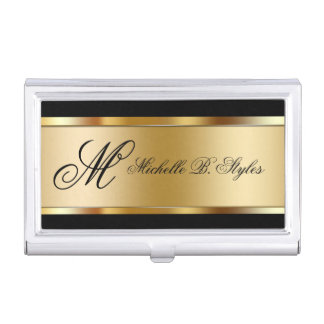 Classy Beauty Business Card Holders