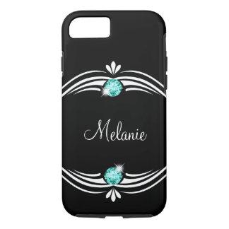Classy Bling Monogram Case-Mate iPhone Case