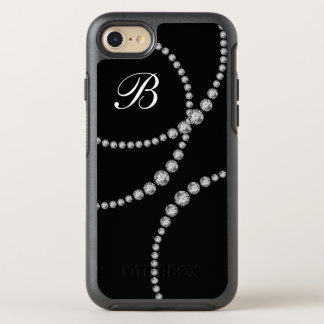 Classy Bling Monogram Otterbox OtterBox Symmetry iPhone 7 Case