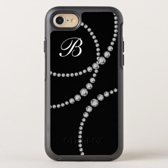 Classy Bling Monogram Otterbox OtterBox Symmetry iPhone 7 Case