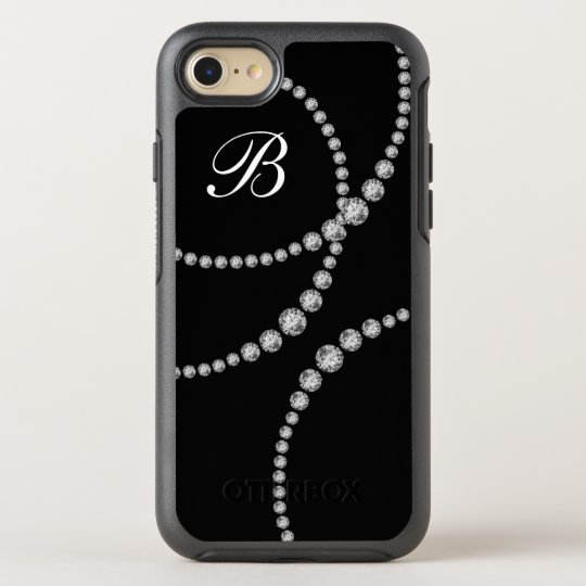 Classy Bling Monogram Otterbox OtterBox Symmetry iPhone 8/7 Case