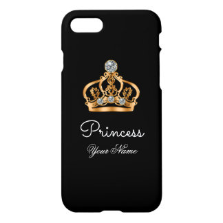 Classy Bling Princess iPhone 7 Case