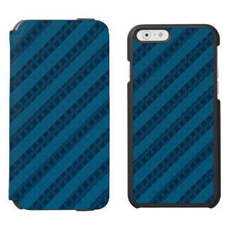 Classy Blue Custom iPhone 6 Wallet Case Incipio Watson™ iPhone 6 Wallet Case