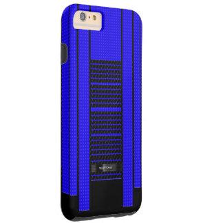 Classy Blue Flowing Banner Tough iPhone 6 Plus Case