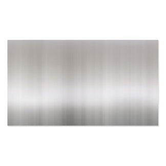 Classy Brushed Aluminum Business Card