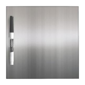 Classy Brushed Aluminum Dry Erase Board