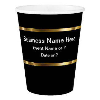 Classy Business Party Cups