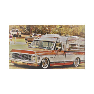 Classy C10 in the Park Canvas Print