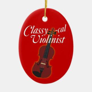 Classy-cal Musician Ceramic Ornament