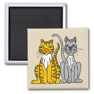 Classy Cats Magnet