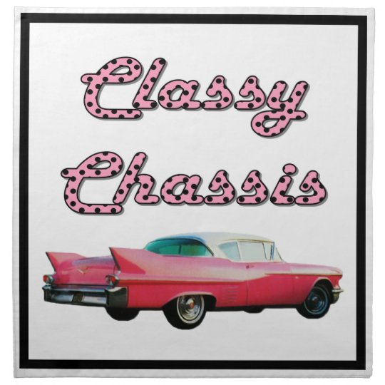Classy Chassis Cloth Napkin