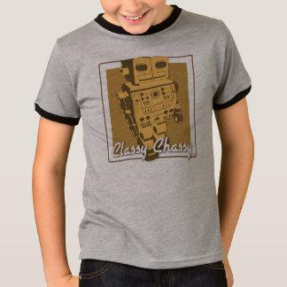 Classy Chassy Robot T-Shirt