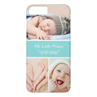 Classy Chic Baby Kids Photo Collage iPhone 7 Plus Case