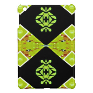 Classy Chic Black Lime Modern Pattern iPad Mini Case
