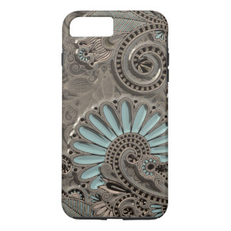 Classy Chic Pretty Damask Paisley Floral Pattern iPhone 8 Plus/7 Plus Case