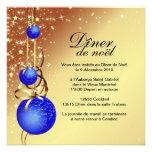 Classy Christmas Card Invitation