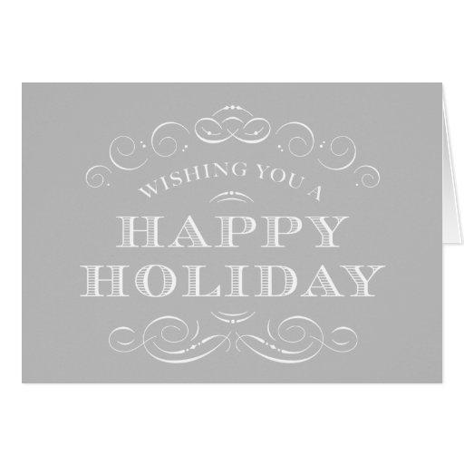 CLASSY CHRISTMAS | HOLIDAY GREETING CARD