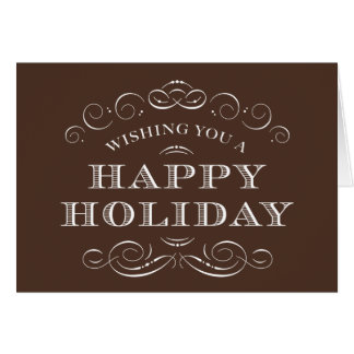 CLASSY CHRISTMAS   HOLIDAY GREETING CARD
