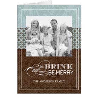Classy Christmas Photo Greeting Card
