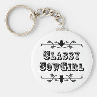 Classy Cowgirl KEY CHAIN ~ Customizable