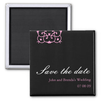 Classy : Customizable Save the Date Magnet