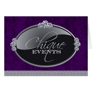 Classy Event Planner Thank You Card