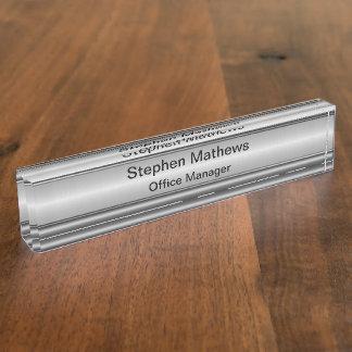 Classy Executive Desk Name Plates