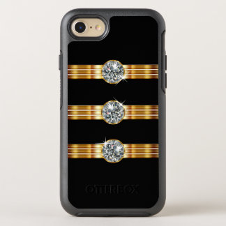 Classy Faux Jewel OtterBox Symmetry iPhone 7 Case