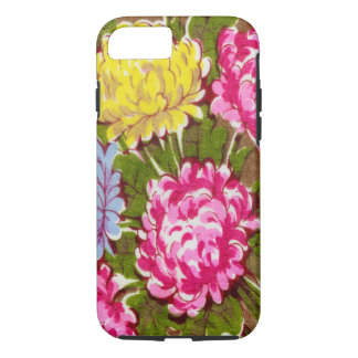 Classy Floral Girly Retro Large Flower Pattern iPhone 8/7 Case