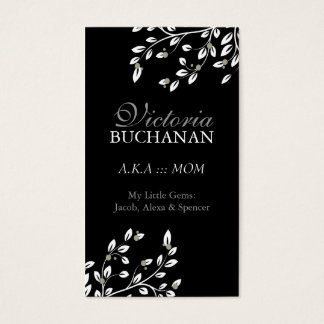 Classy Floral Mommy Card