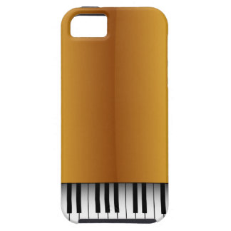 Classy Gold Piano Look iPhone 5 Case