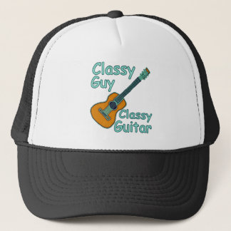 Classy Guy Classy Guitar Trucker Hat