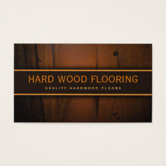Classy Hardwood Flooring Wooden Floors Faux Wood Business Card