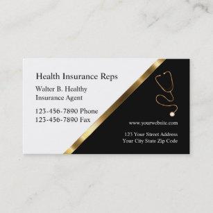 Insurance Agent Business Cards & Profile Cards | Zazzle CA