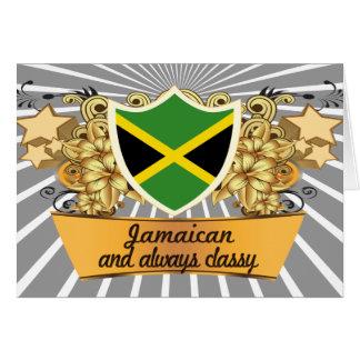Classy Jamaican Card