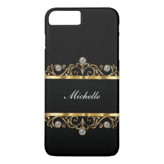 Classy Ladies Monogram Bling Style Case-Mate iPhone Case