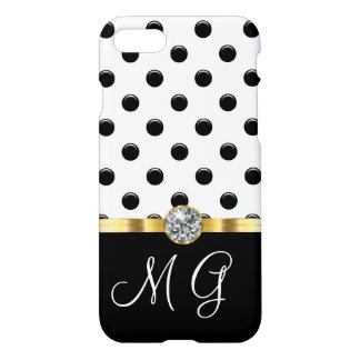 Classy Ladies Monogram Design iPhone 8/7 Case