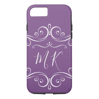 Classy Ladies Monogram Style iPhone 8/7 Case