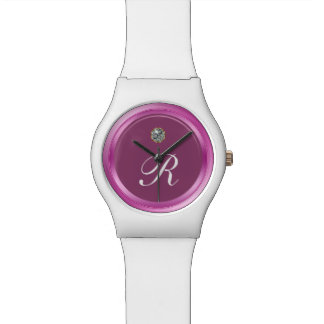 Classy Ladies Monogram Wristwatch