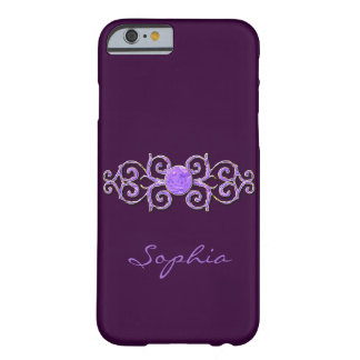 Classy Lavender Crystal Look I Phone 5 Case iPhone 6 Case