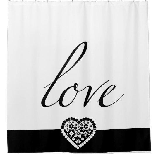 Classy Love Shower Curtain