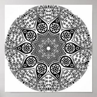 Classy Mandala Poster