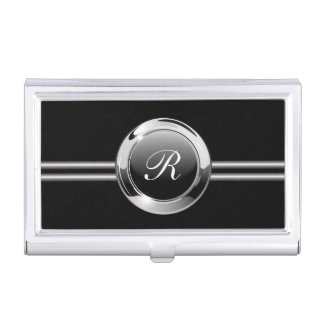 Classy Monogram Business Card Cases