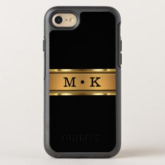 Classy Monogram Initials OtterBox Symmetry iPhone 8/7 Case