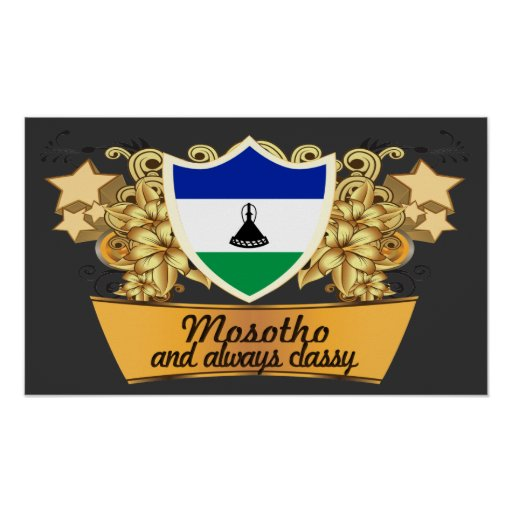 Classy Mosotho Poster