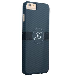 Classy Navy Blue Custom Monogram - iPhone 6 Case