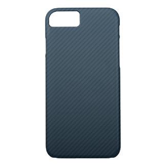 Classy Navy Blue Stripes - Custom iPhone 7 Case
